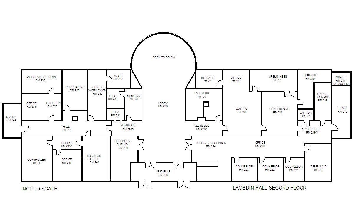 building-floorplan-labmdin-hall-level-two