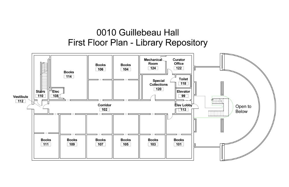building-floorplan-guillebeau-hall-first-floor