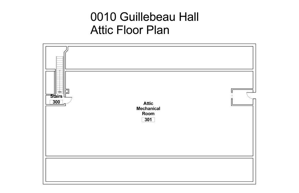 building-floorplan-guillebeau-hall-attic