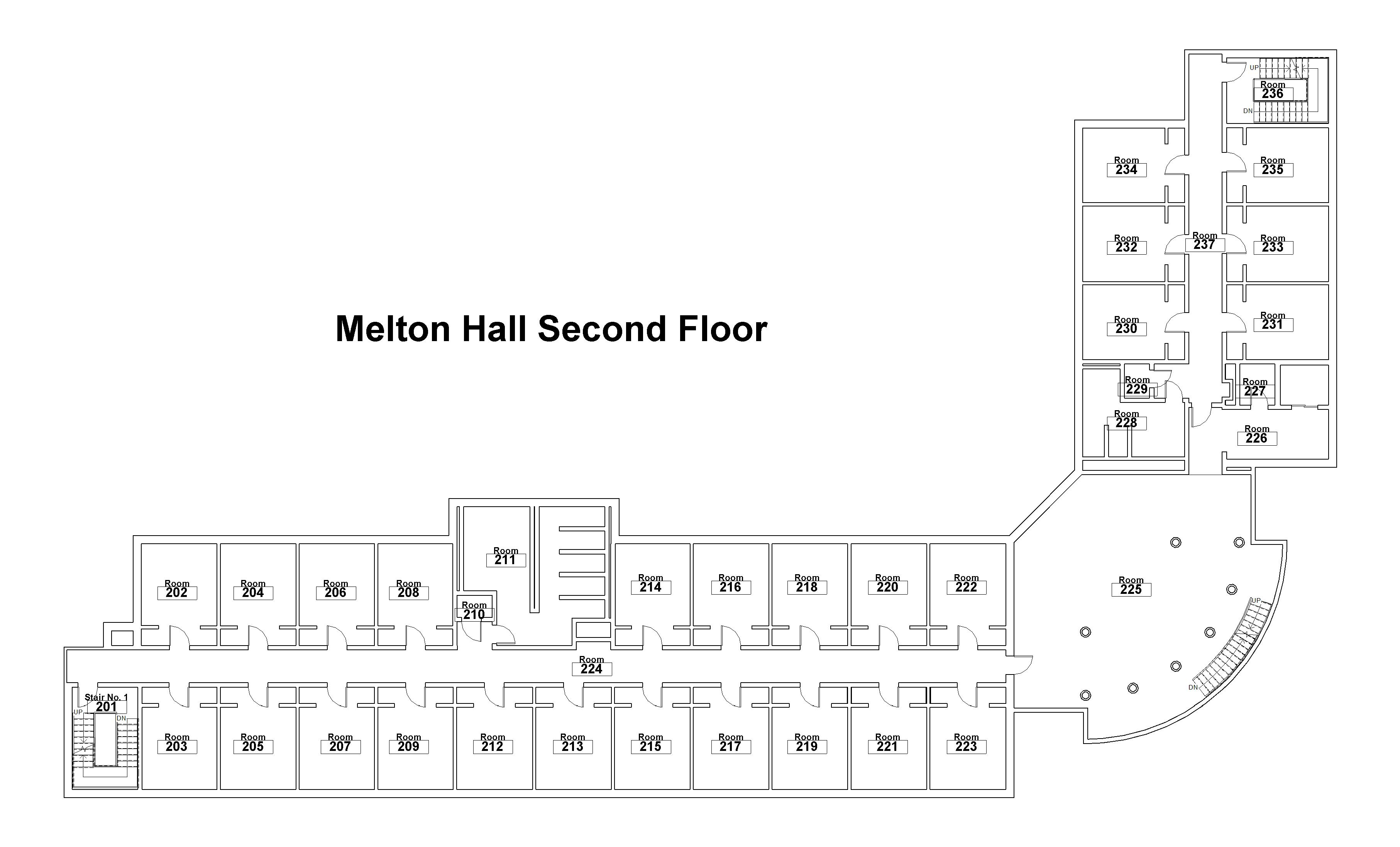 building-floorplan-melton-hall-floor-two