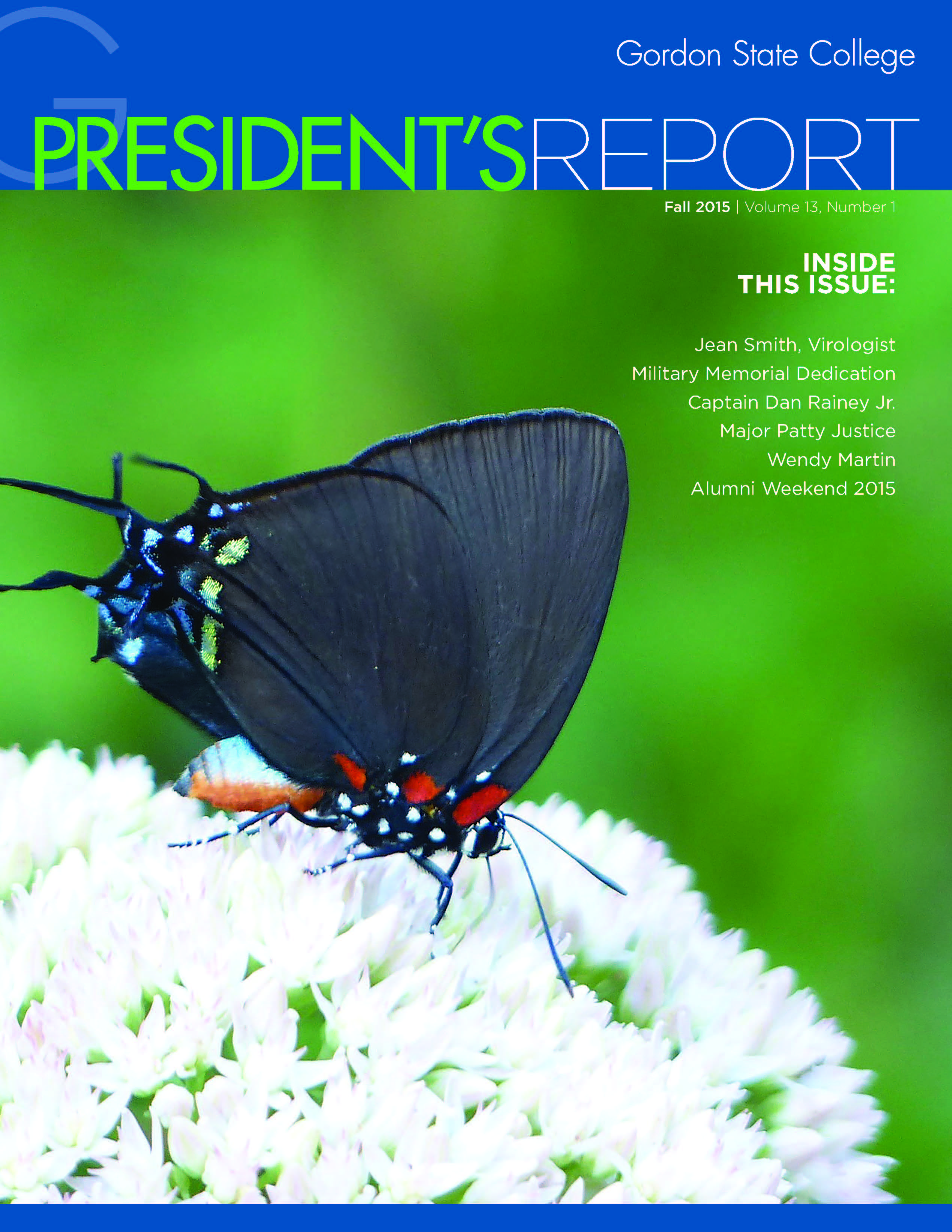 2015 presidents report cover