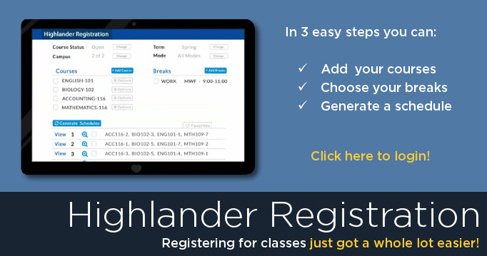 highlander-registration