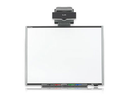 Picture of a classroom SMART board