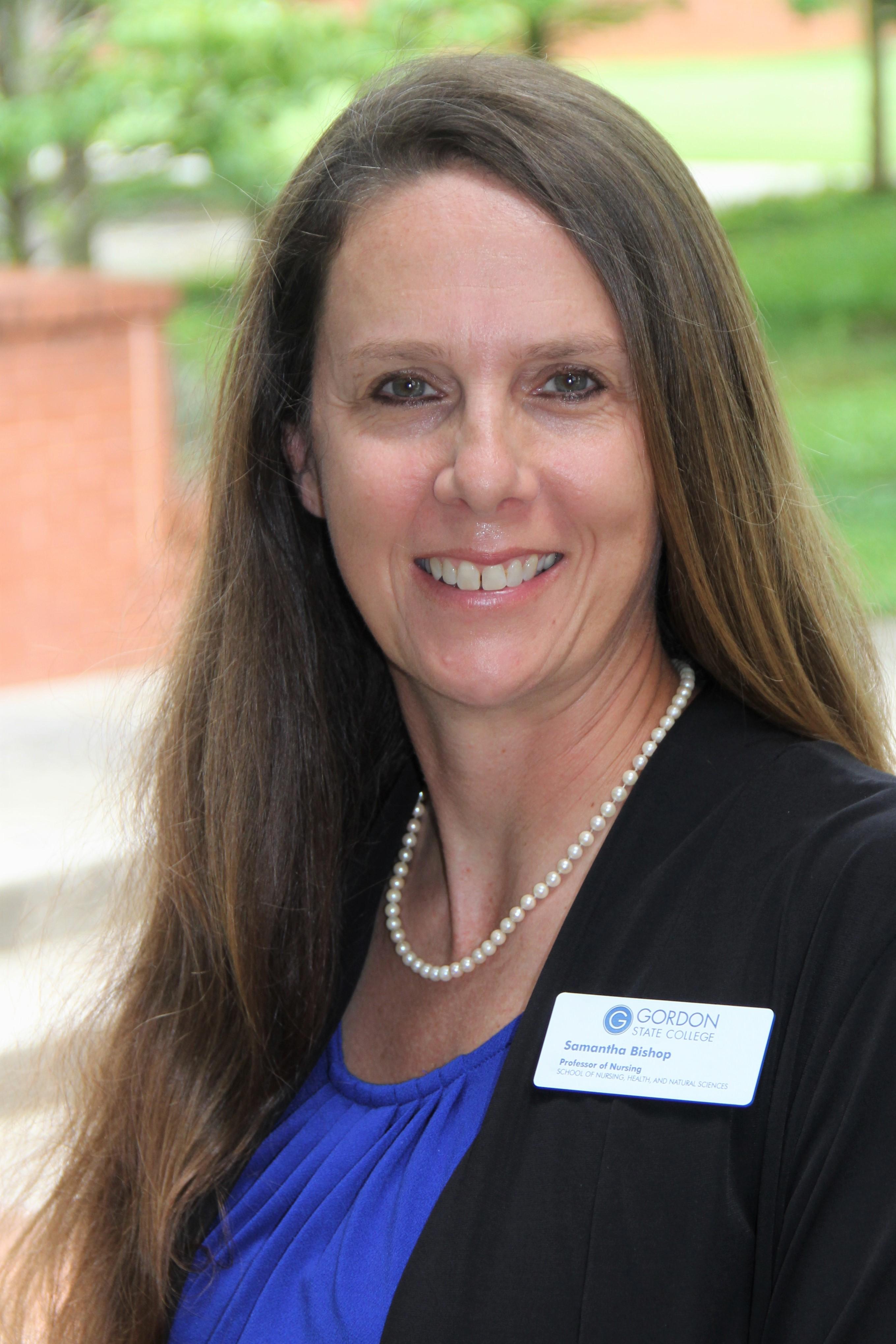 Director of Nursing Samantha Bishop
