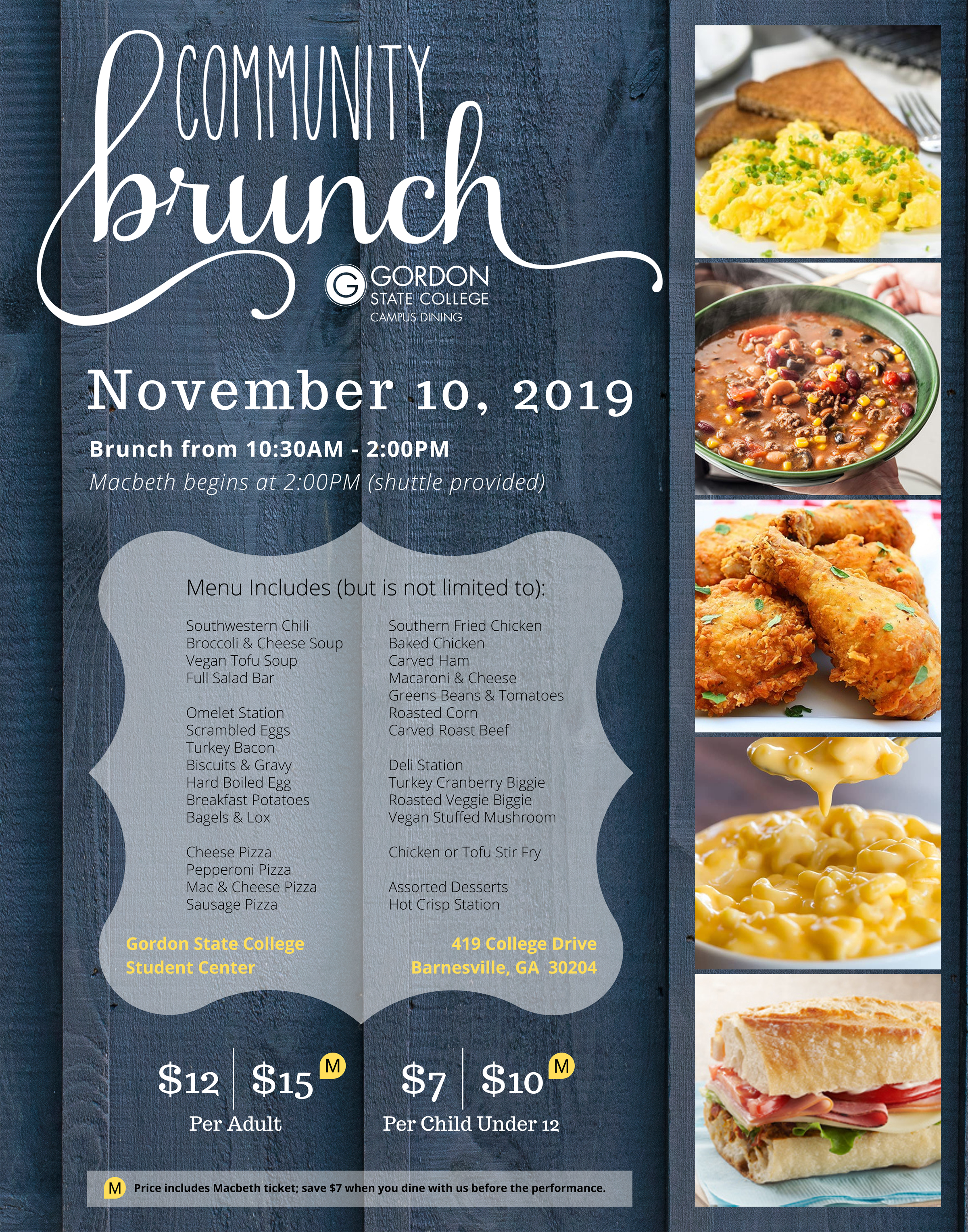 community brunch