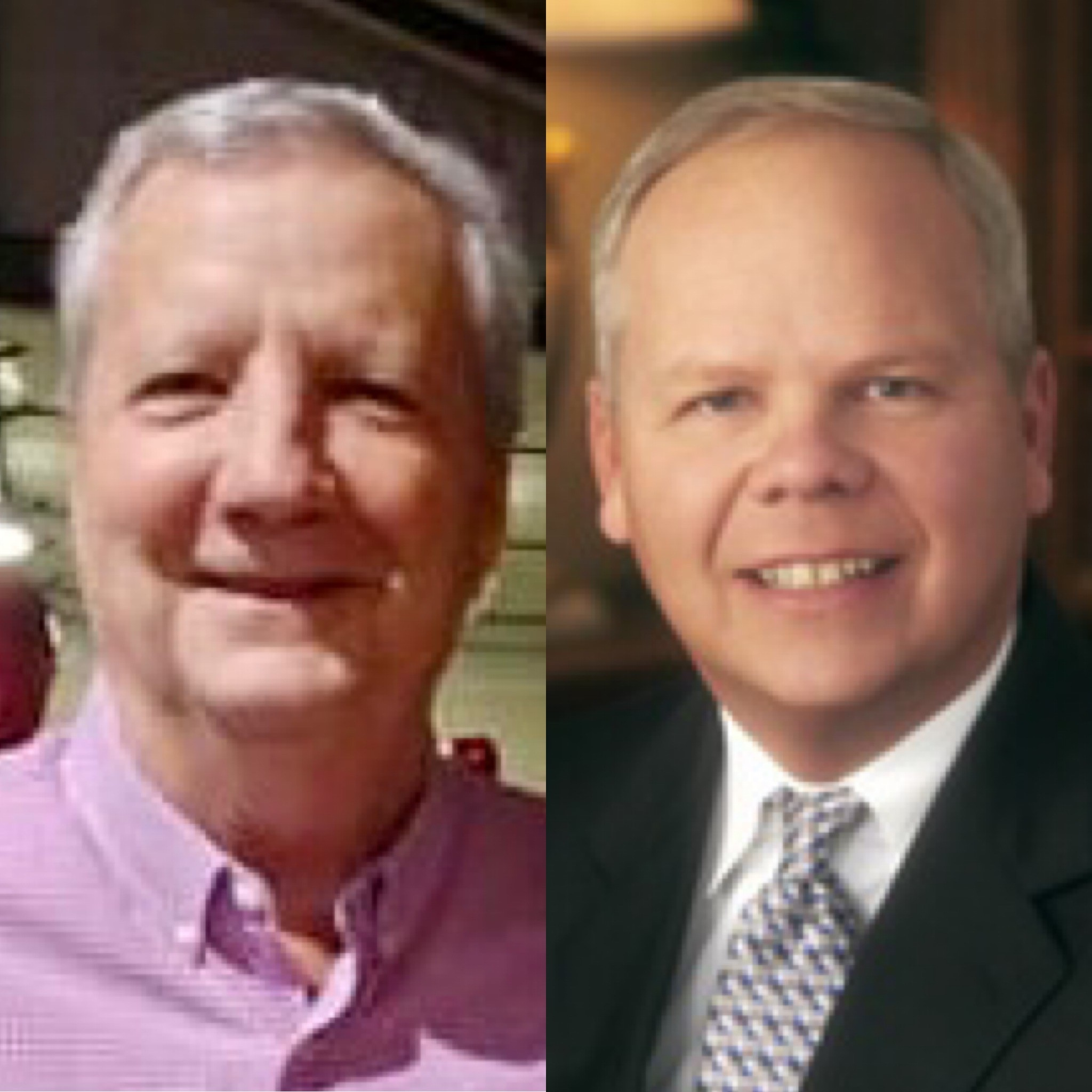 Emeriti from left: Bill Cooper, William Fears
