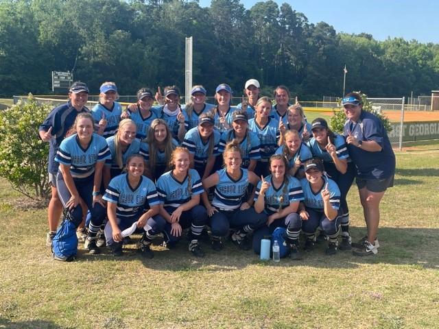 Georgia Collegiate Athletic Association 2021 Regular Season Champion