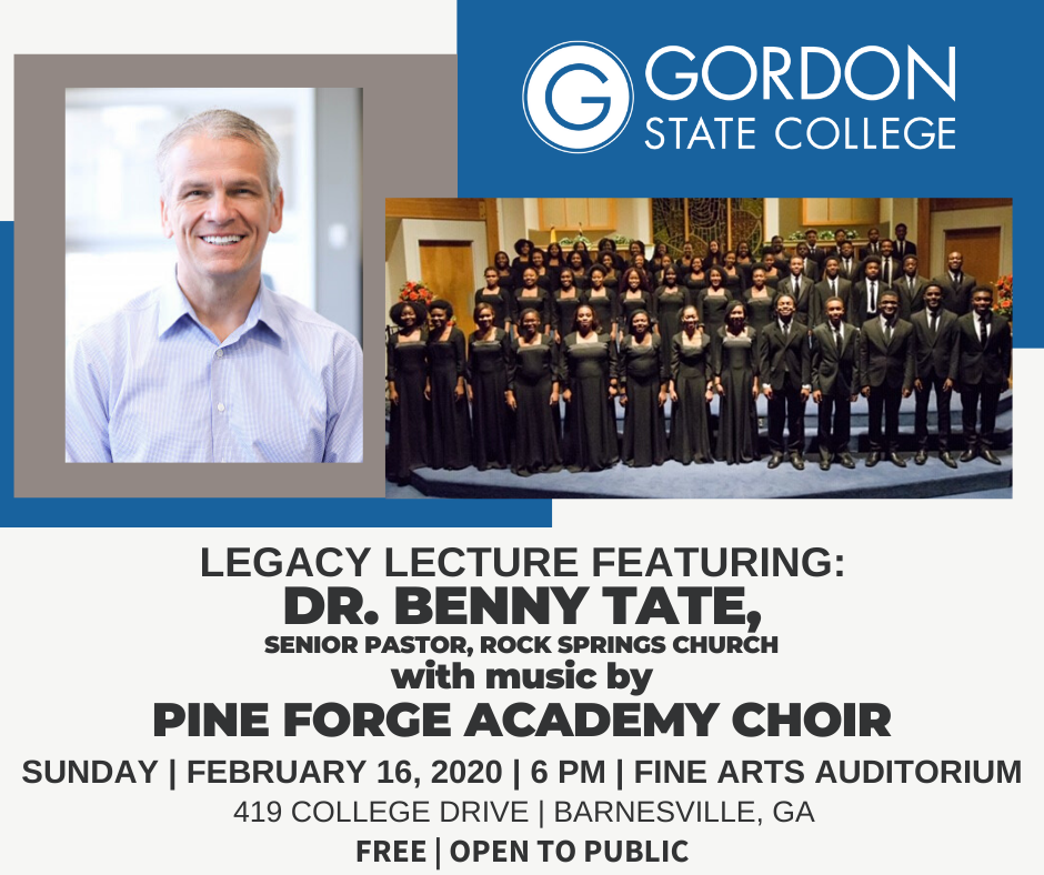 Dr. Benny Tate and Pine Forge Academy Choir featured in Lecture
