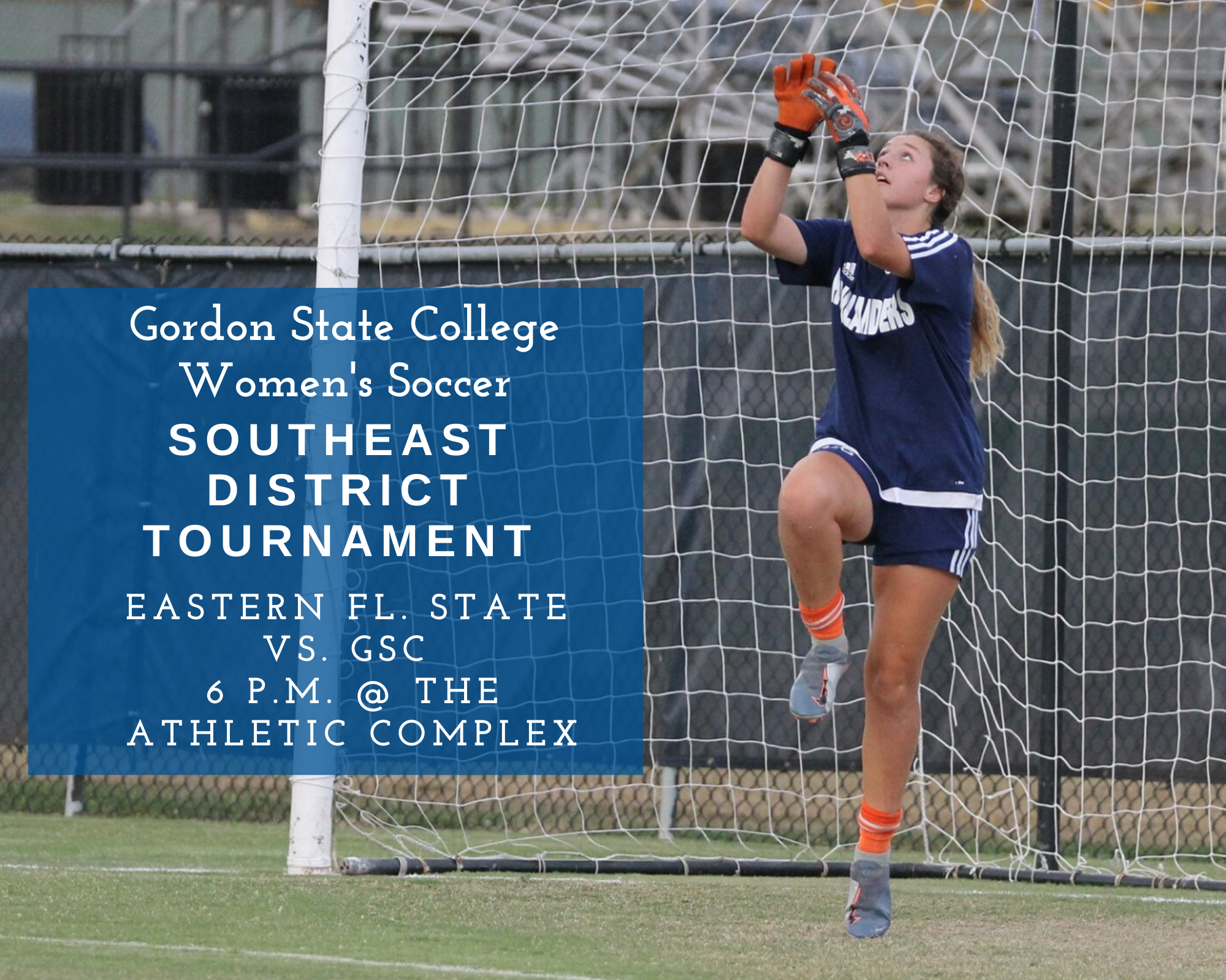 Gordon State College Women's Soccer defended the Georgia Collegiate Athletic Association (NJCAA Region 17) title with a 1-0 victory over Georgia Military College.