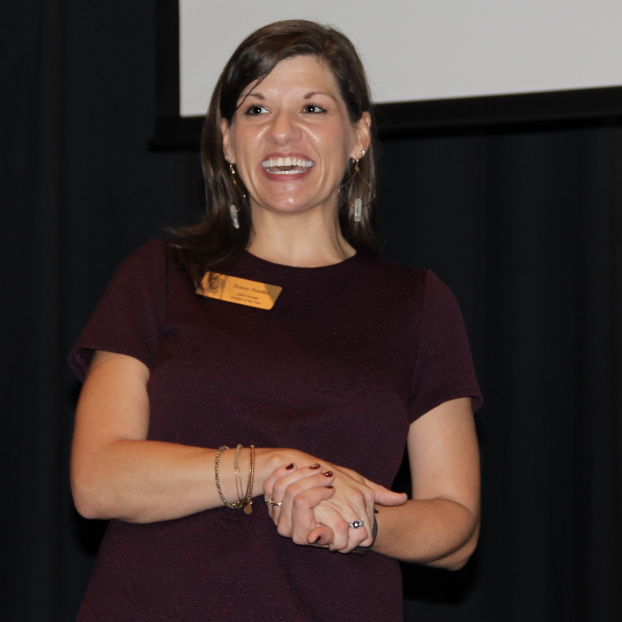 Georgia Teacher of the Year Tracey Pendley shared her experiences in the education sector Wednesday in an open session at Gordon State College.
