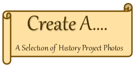 Create A link to history project photo album on face book